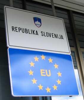La Slovénie est membre de l'UE depuis le 1er mai 2004